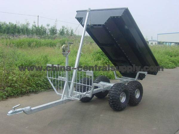 Tandem timber trailer TMT020