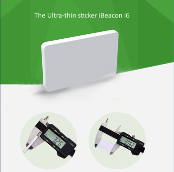 Ultra thin white New bluetooth advertising beacon, Bluetooth 4.0 with SDK