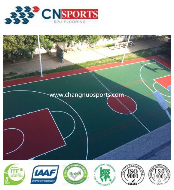 CN-S01 SPU Sports Flooring System