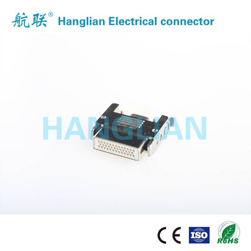 J24H Series Rectangular Twist pins military Electrical Connector