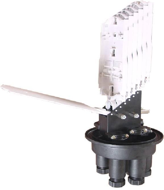 Fiber Optic Splice Closure Dome Type Mechanical Sealing FOSC-V5M