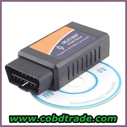 ELM327 Bluetooth software OBD2 CAN-BUS Scanner Tool ELM327 USB
