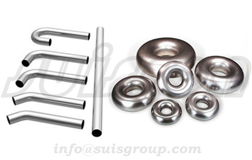 Exhaust bending pipe and elbows, stainless steel donuts, exhaust bends and donuts