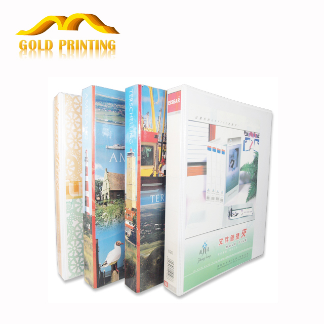 China factory cheap custom A3 A4 A5 size hardcover paper file plastic folder printing