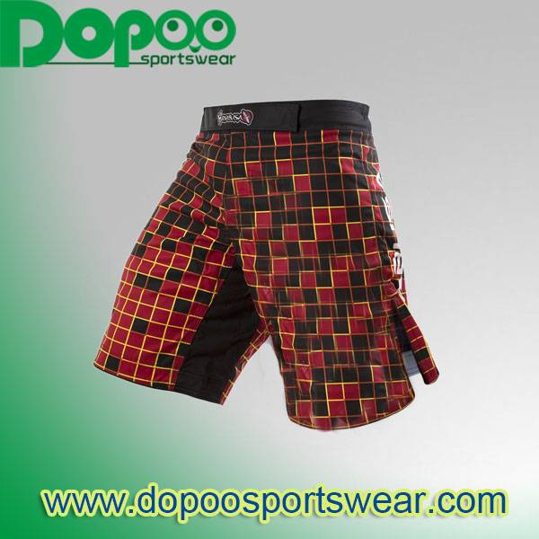 sublimated fight cheap custom mma shorts wholesale