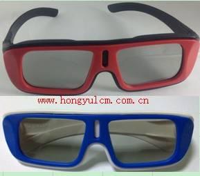 linear polarized 3D glasses