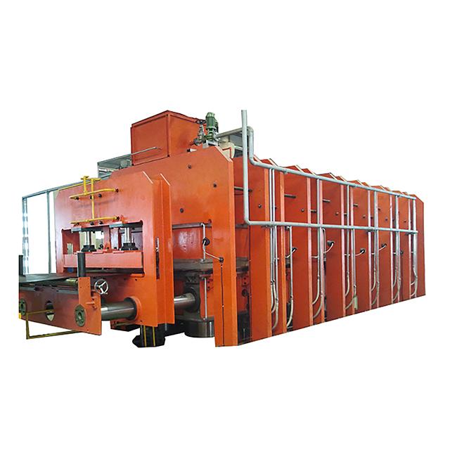 rubber vulcanizing press machine, rubber conveyor belt vulcanizing machine