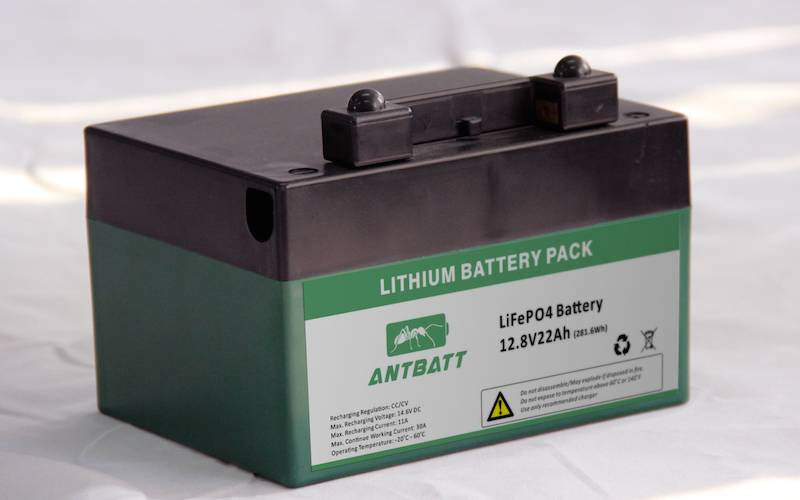 LiFePO4 12.8V 22Ah Golf Trolley Battery Pack