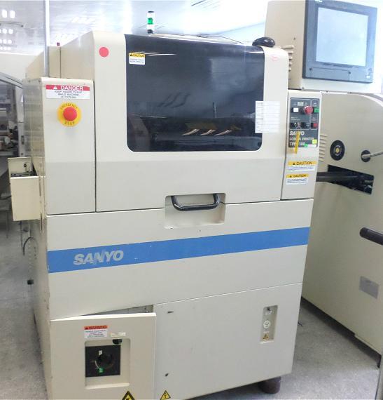 Sanyo TPM-100R screen printer 1set