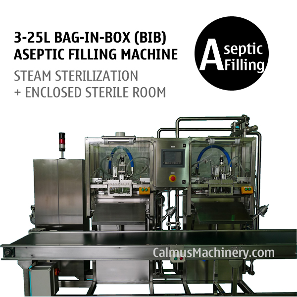 3-25L Double-head Bag in Box Filling Machine Sterile Products BIB Aseptic Filler