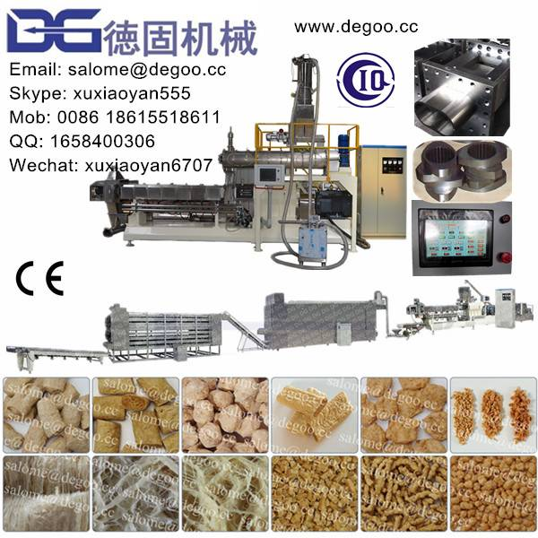 Textured Vegetable Protein/Fibre Protein Extruder Machine Production Line