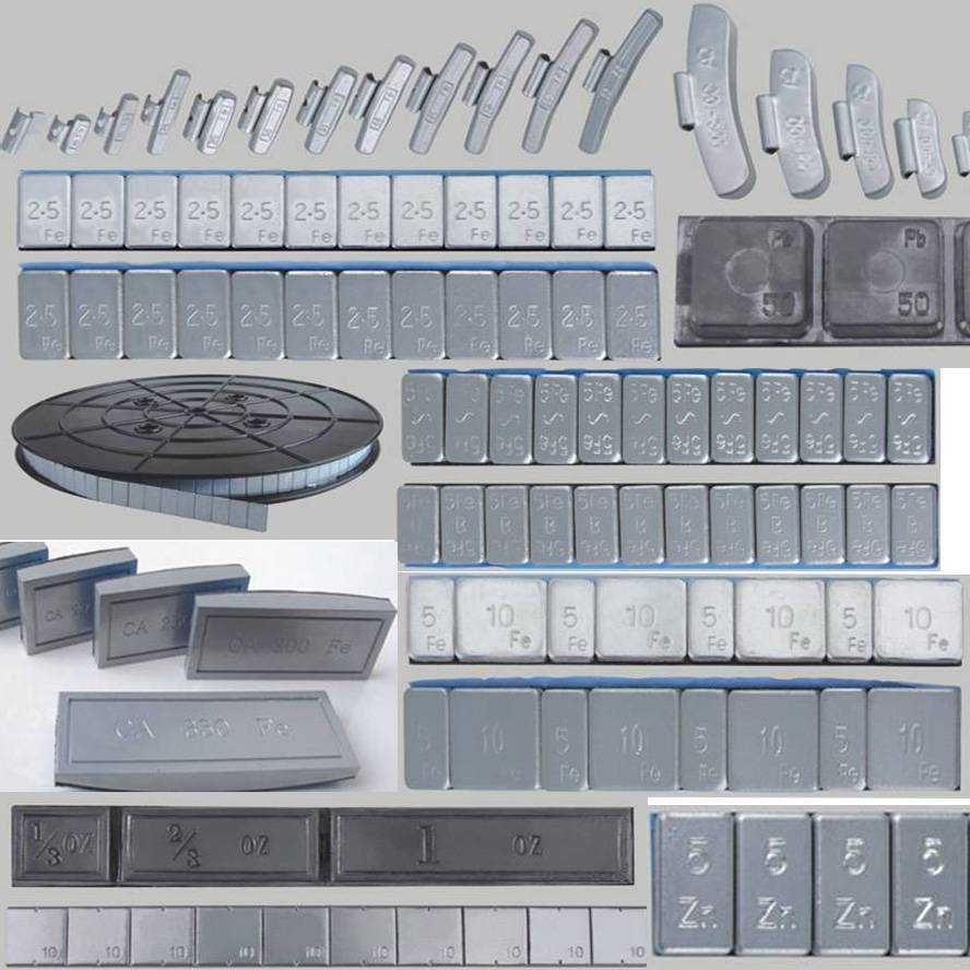 wheel balance weights,steel weights,lead weights,zinc weights,tire repair products