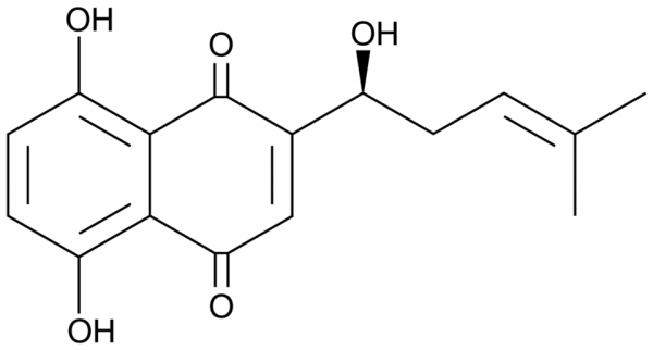Phytochemical Compound Alkannin CAS NO.517-88-4