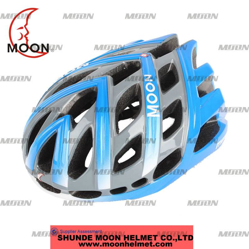 high quality variegated detector helmet for exporting bicycle helmet