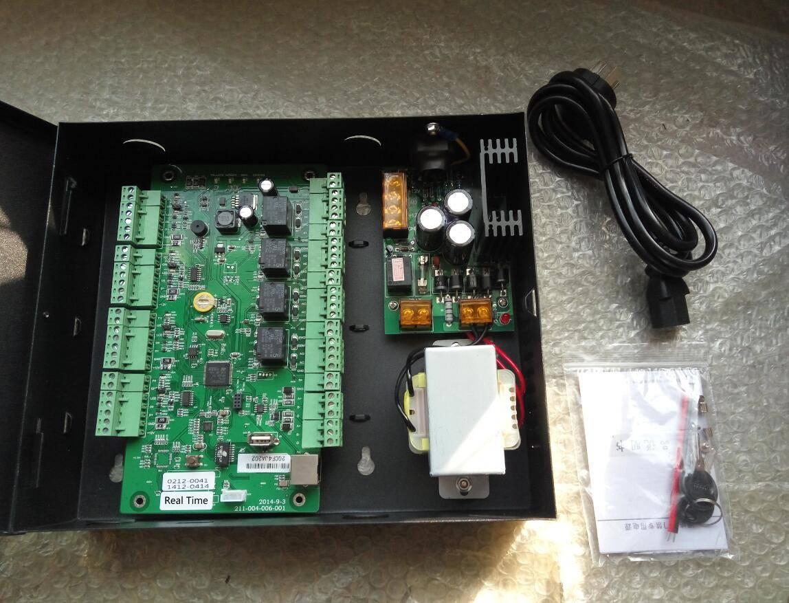 Four-door single way access control board