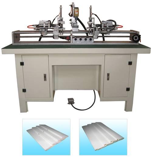 wooden louver shutter machine