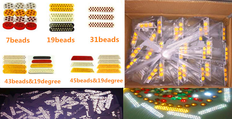 Plastic Road Studs(different shape and material)