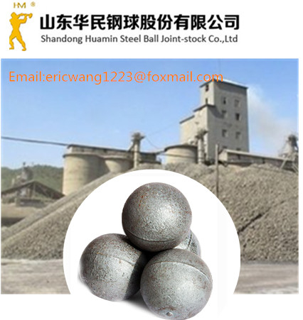 70mm cast grinding iron balls for cement plant China