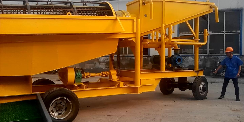 Latest Technology Mini Gold Mining Washing Machine/ equipment