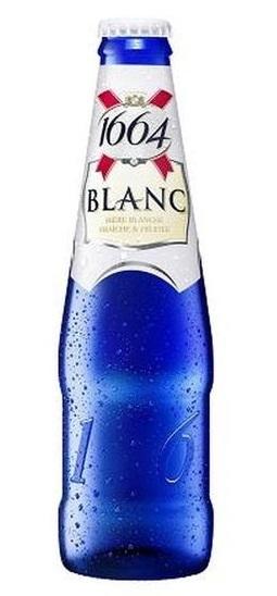 French Origin kronenbourg 1664 blanc blue bottle, 330ml, 250ml