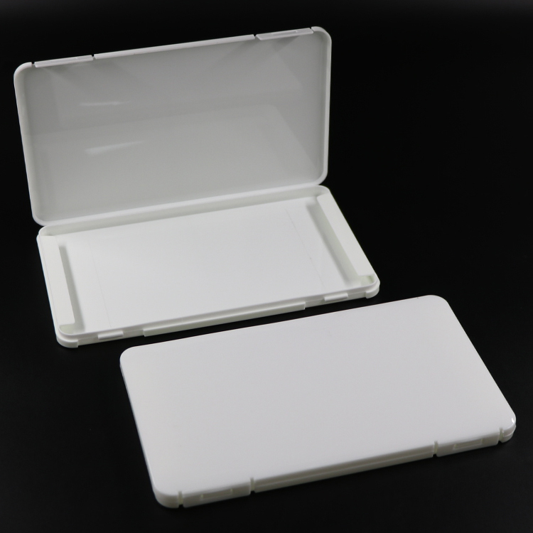Face Shield Box Portable Rectangle Dustproof Cotton Mask Storage Container Plastic Seal Box Mask