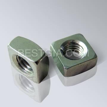 DIN557 Bright Square Nut