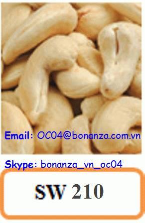 Cashew Nut Scorched Whole 210 - SW 210