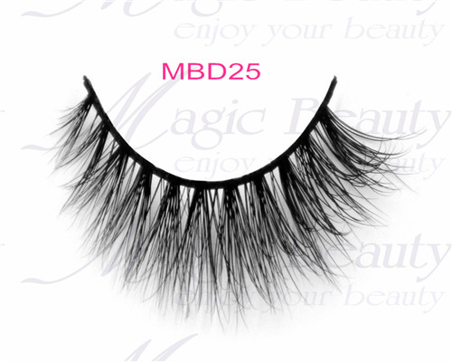 3D Siberian Mink Lashes MBD25 Magic Beauty Premium Lashes