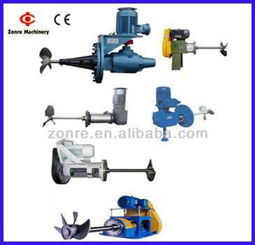 Zonre different types of agitator mixer