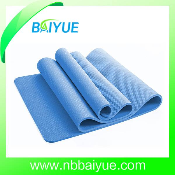 Non-Slip Double Layer TPE Yoga Mat