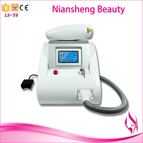 Latest professional laser tattoo removal machine