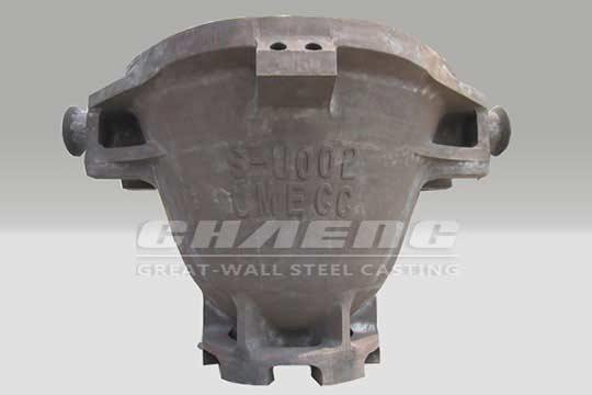 Steel slag pot for steel industry
