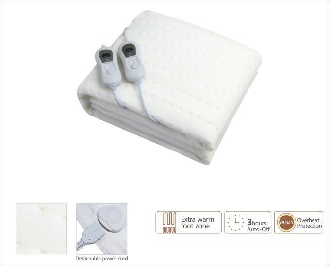 Electric Underblanket with 100% polyester