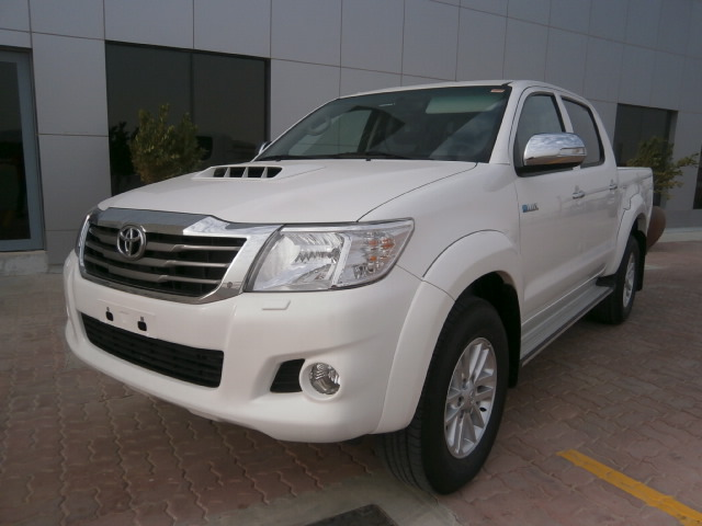 TOYOTA HILUX 4WD DC ABS 2012