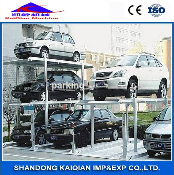 Mechanical KaiQian Pit-Lifting hydraulic car parking system