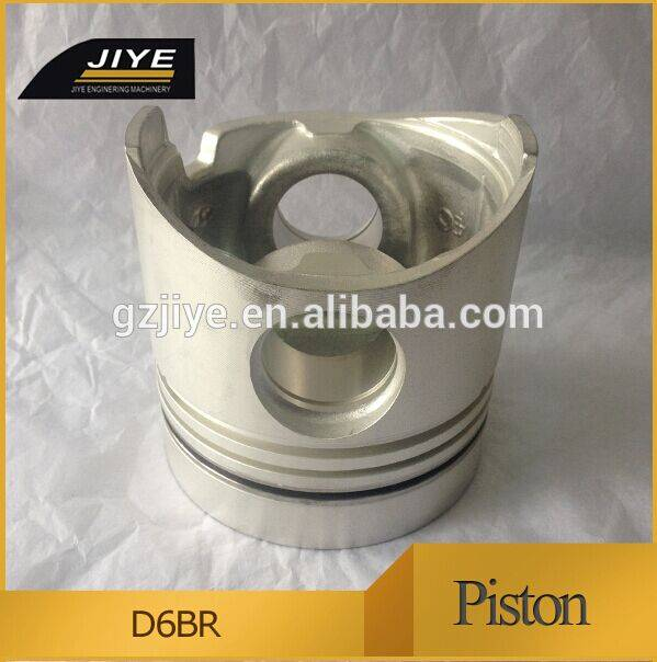 diesel engine piston for doosan D6BR D6AC piston kit 23411-83411 crankshaft 23100-83001 cylinder blo