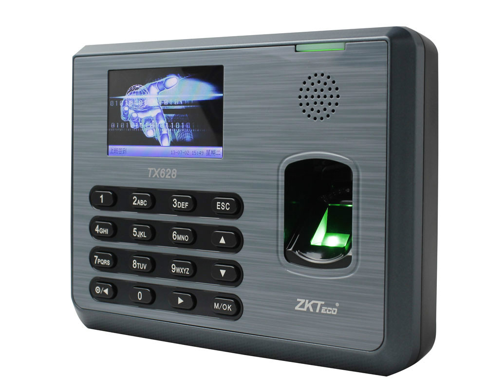 Fingerprint Time Recorder With TCP IP RS232 485 USB Port