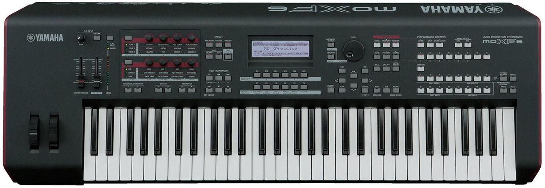 Yamaha MOXF6 61-Key Semi-Weighted Synth Keyboard