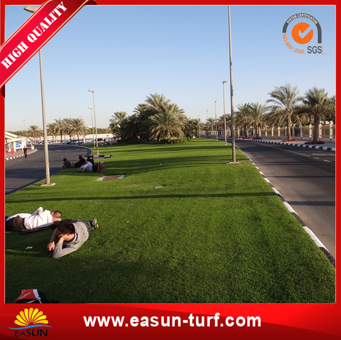 Artificial Turf Synthetic Mat Grass with Good Quality-MY