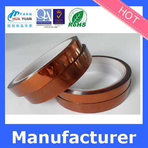 Hot sales golden finger amber polyimide tape with high temperature