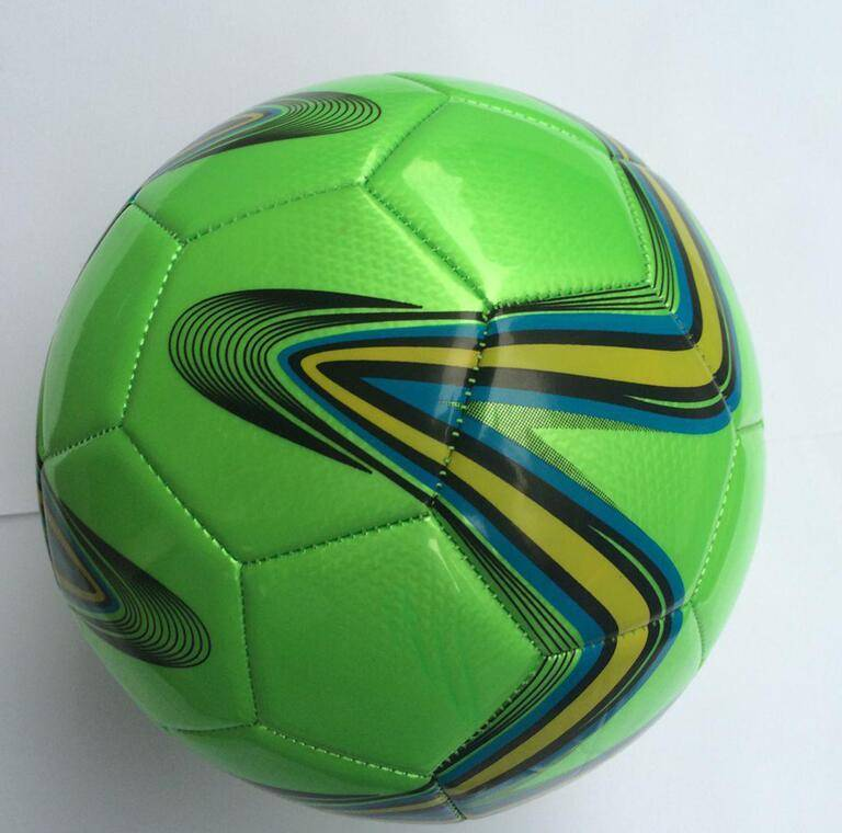 High quality PVC football/soccer ball black and white color