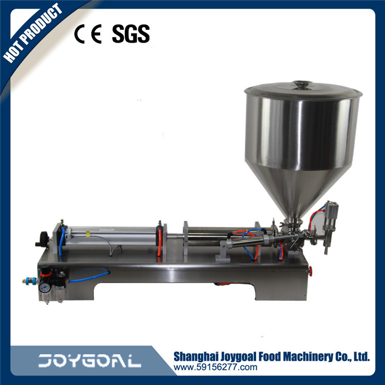 Joygoal -factory wholesale Semi-automaic jar/bottle/can tomato paste/sauce filling machine