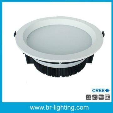 NEW 36W LED downlight with frosted diffuser