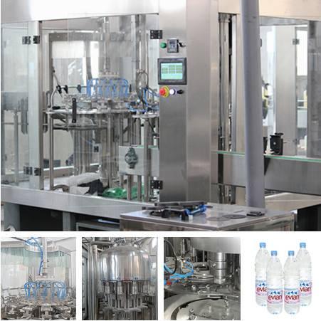 500ml-2000ml PET Bottle Pure Water Bottling Equipment For Sale