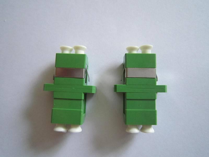 Free Samples!!!LC to LC APC Duplex Fiber optical Adapter