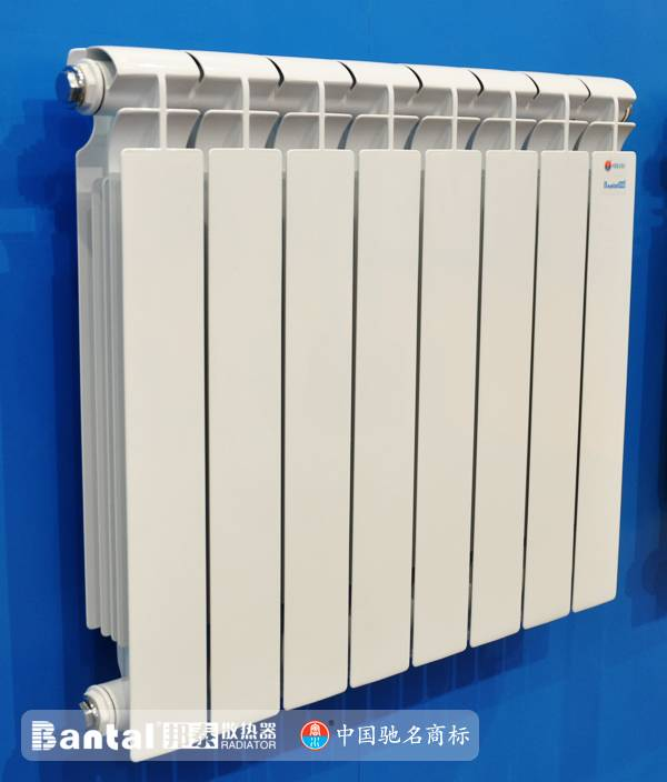 home using aluminum radiator for water heating system