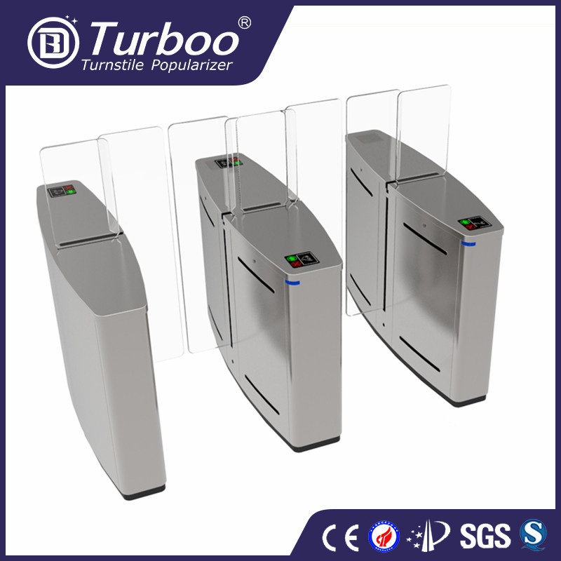 Turboo A621:Electronic turnstile with finger print system