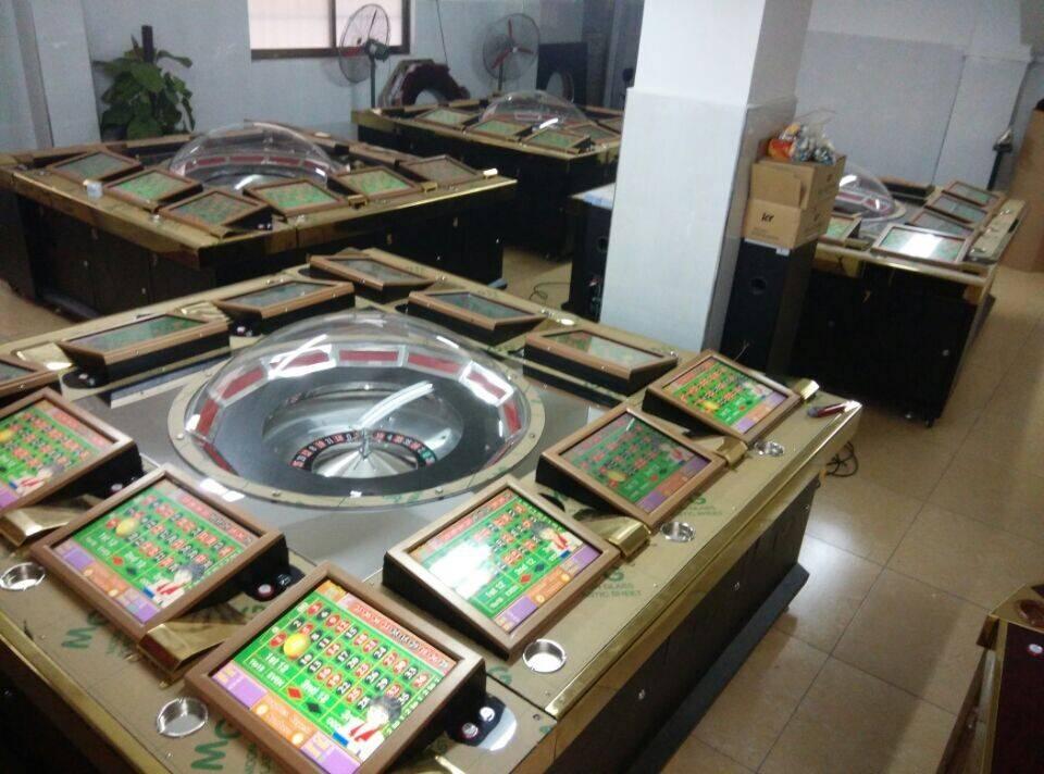 2015 Casino Equipment Roulette Gambling Machine for 12 Players