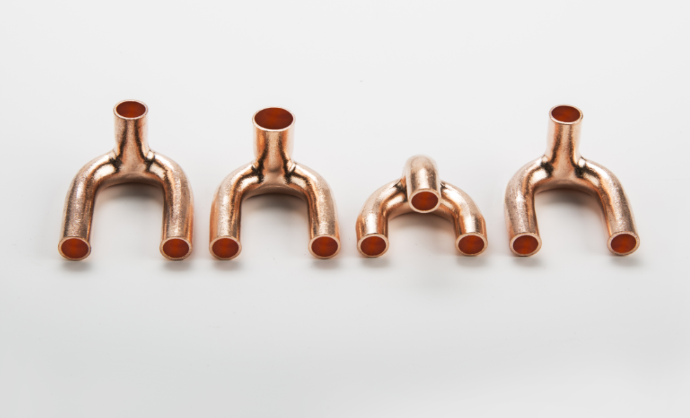 Tripod / copper fitting
