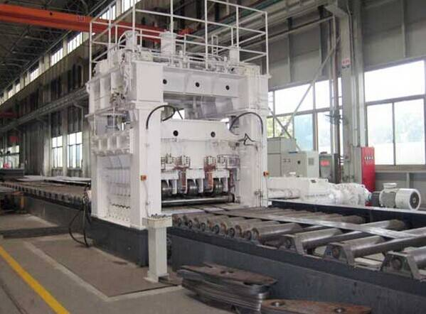 9ROLL PLATE STRAIGHTENING/LEVELING MACHINE